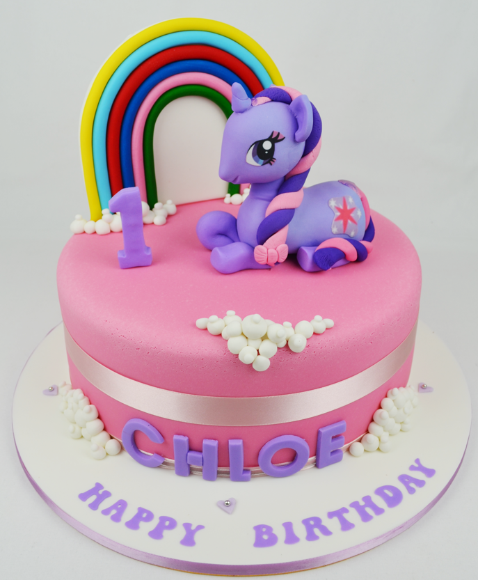 Cake Designs My Little Pony : My Little Pony Children s Birthday Cake ? Personalised ...