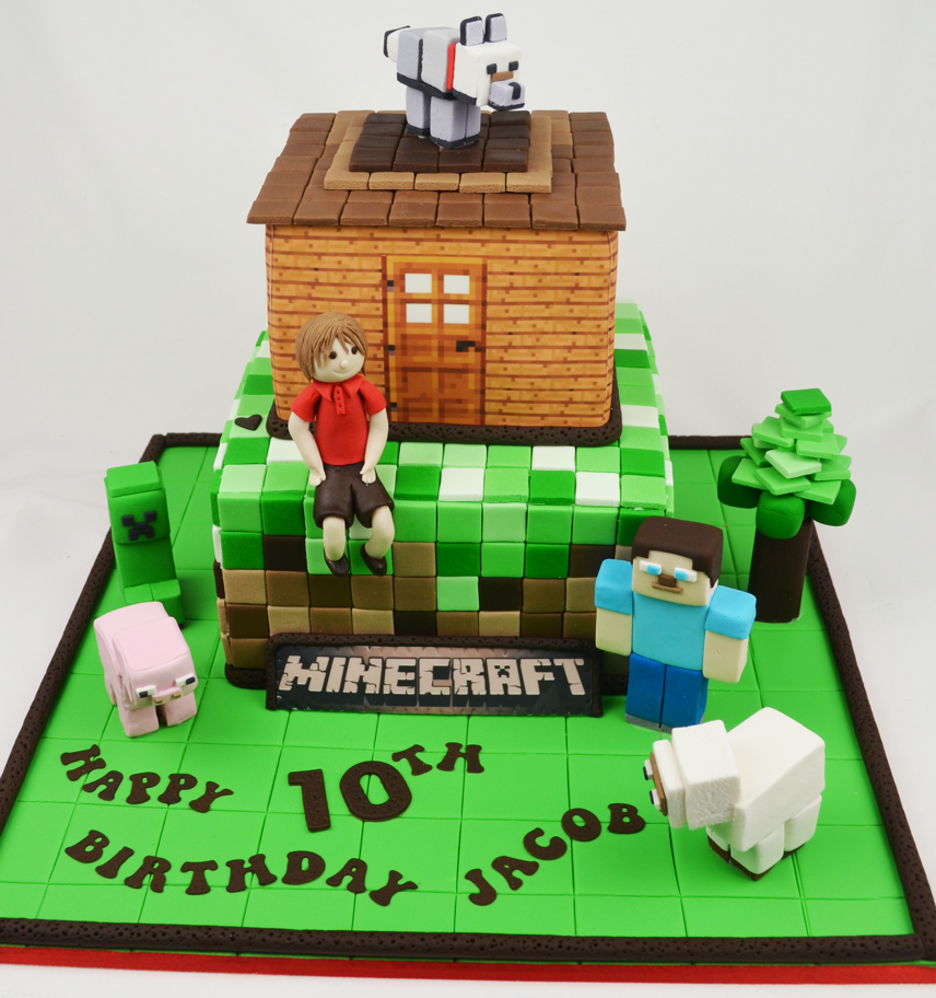 Minecraft Images For Birthday Cake : 1000+ images about Cakes: Minecraft on Pinterest