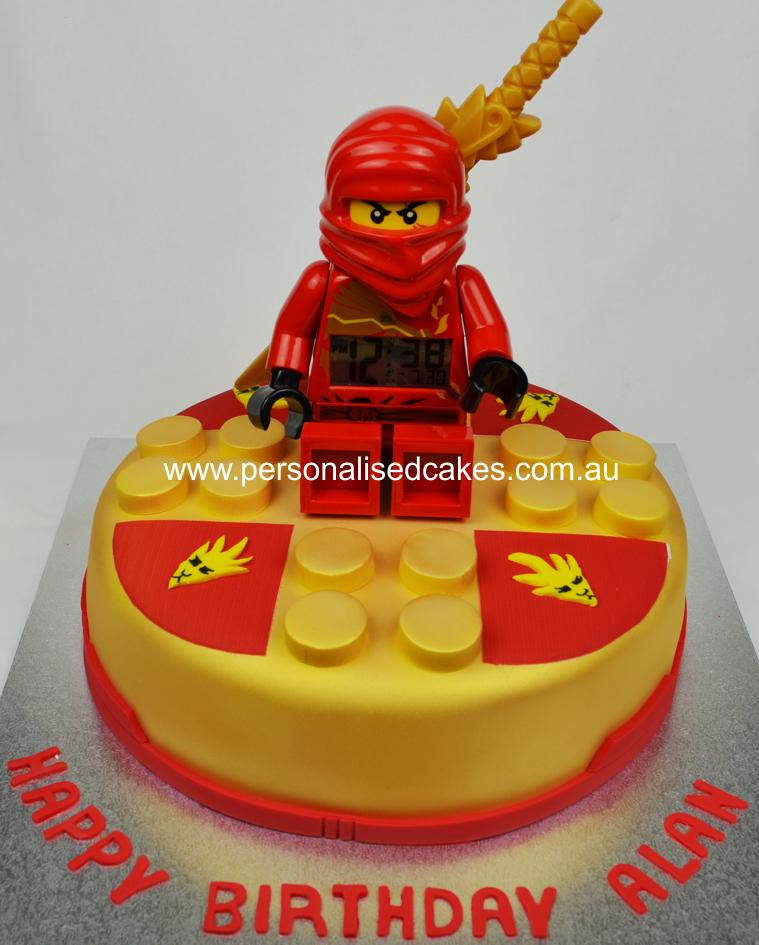 Ninjago Spinner Cake Lego Cake Kai Cake Birthday Cakes Sydney1g