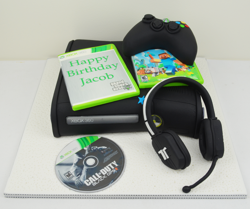 xbox 360 birthday cake Personalised Cakescomau