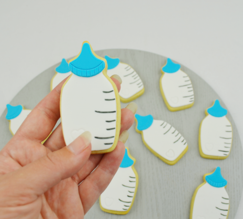 baby bottle cookies