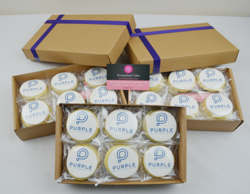 corporate gift boxed cookies