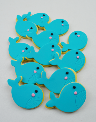 Sea creatures cookies