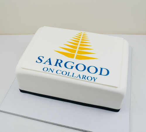 Sargood - CC393 Corporate logo cakes