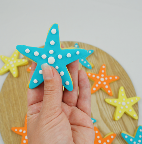 Star Fish Cookies