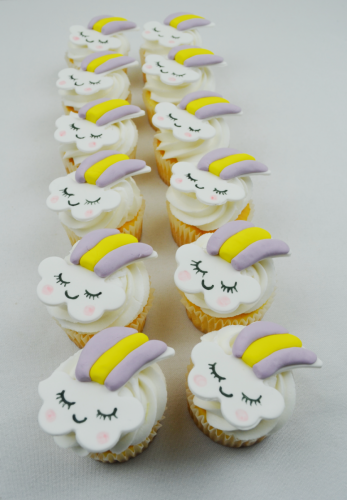 unicorn cloud cupcakes