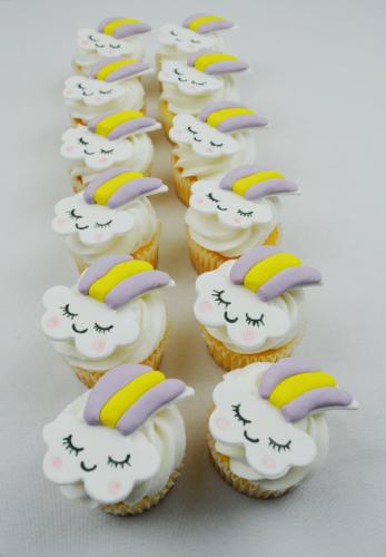 unicorn cloud cupcakes