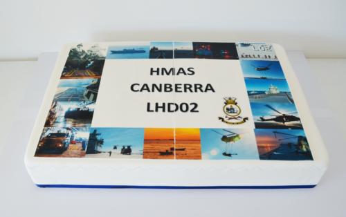HMAS Canberra - CC512