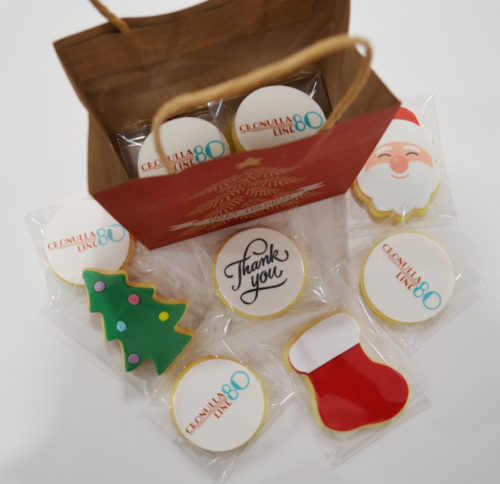 Christmas Logo Cookie Bag