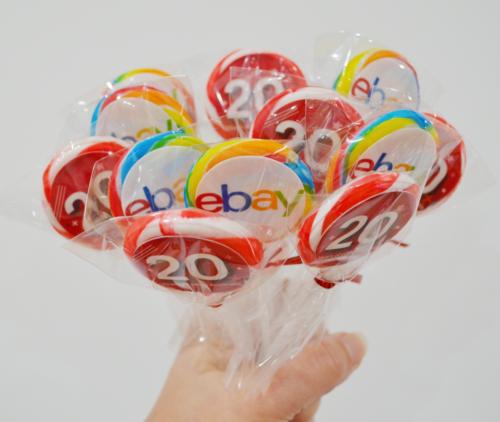 *NEW* Logo lollipops with edible logos