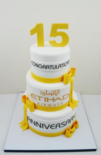 Etihad - CC389 Promotional cakes