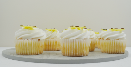 giraffe cupcakes