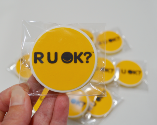 R U OK day cookies