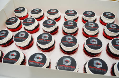 branded company cupcakes sydney