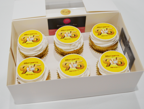branded cupcakes Sydney