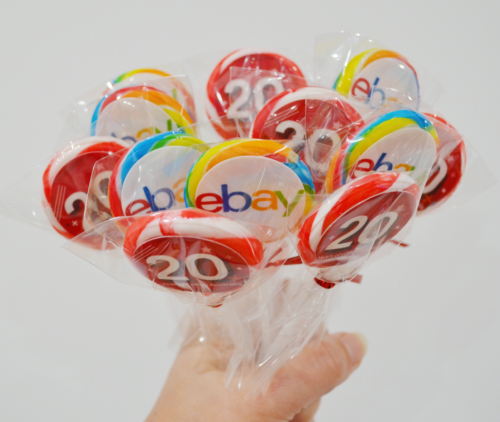 *NEW* Logo lollipops with edible logos