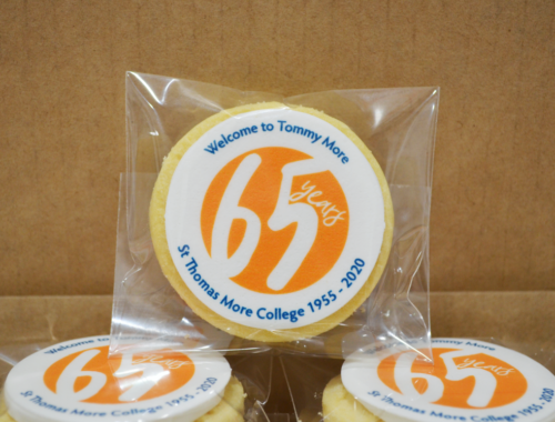 Cookies with logo